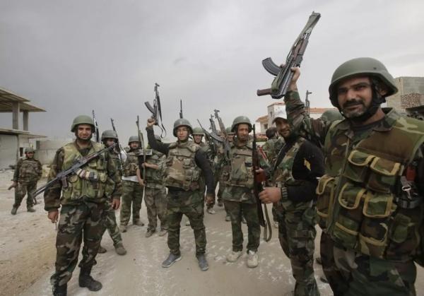 Война: Российский спецназовец о сирийской армии
