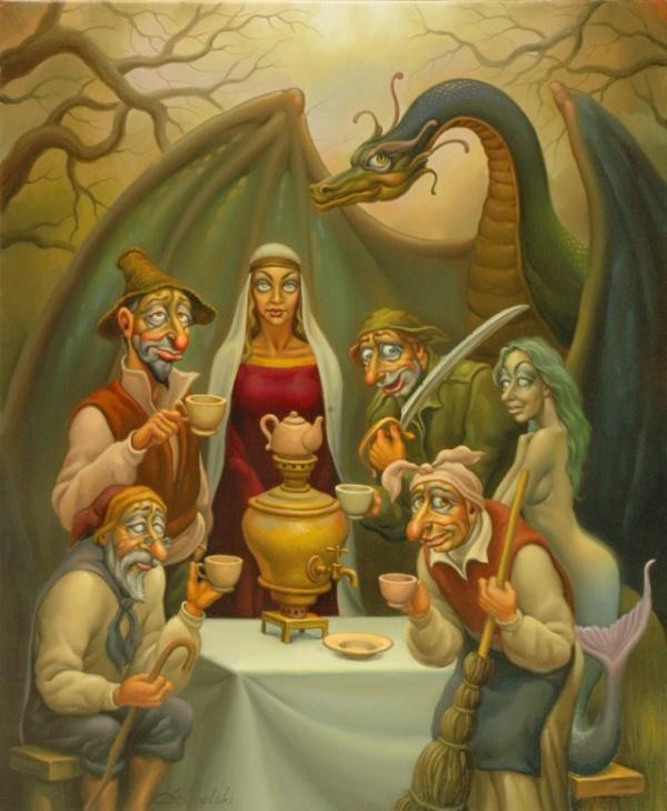 Картинки: Картины художника Анатолия Козельского