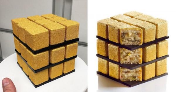 кухня: Необычный торт