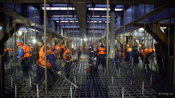 Интересное: Как строят Крымский мост