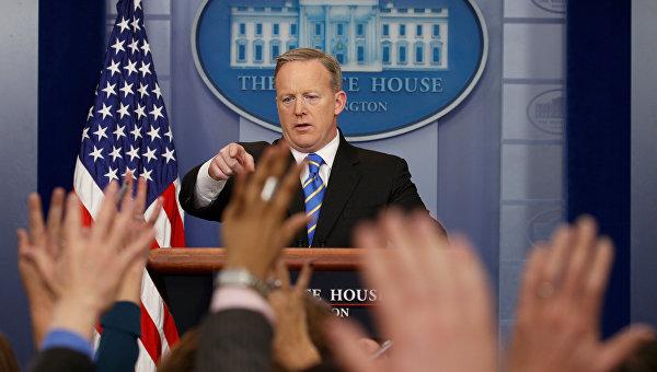 Безумный мир: Пресс-секретарь Белого дома заявил, что США не использовали химическое оружие.