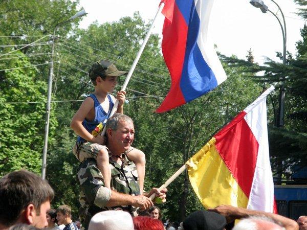 Политика: Южная Осетия хочет в Россию