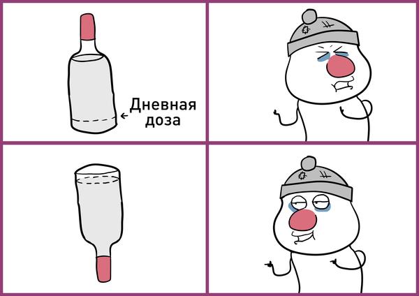 Картинки: Минздрав предложил указывать на бутылках предельную дозу алкоголя