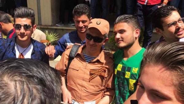 Интересное: В Сирии стартовала акция «Георгиевская ленточка»