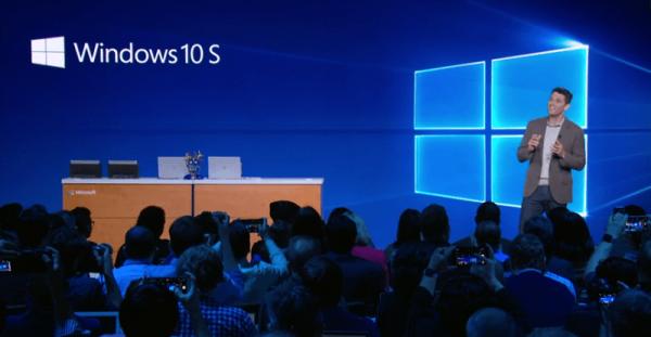 Технологии: Microsoft представила Windows 10 S
