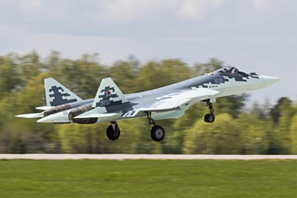 Интересное: Первые фотографии самолета Т-50-9