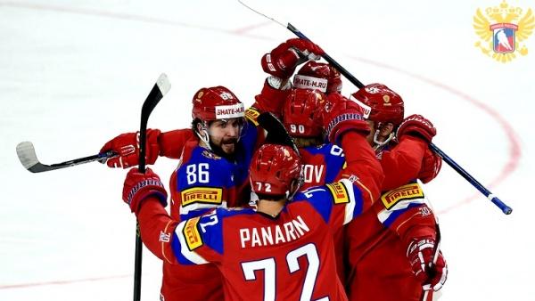 Спорт: Наша сборная раскатала чехов и вышла в полуфинал
