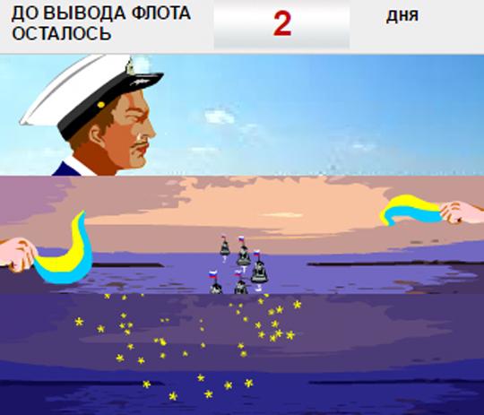 Политика: Сегодня началась бы война за Черноморский флот