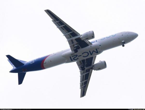 Новости: МС-21 совершил свой первый полет!