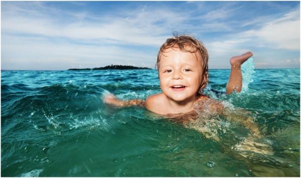 Полезные советы: Малыш и море