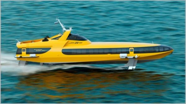 Новости: В России возобновлено производство судов на подводных крыльях «Комета»
