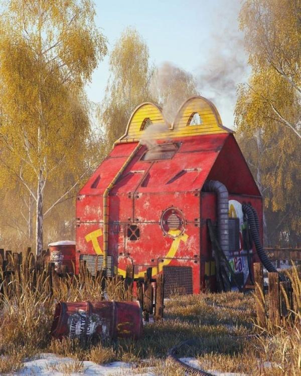 Картинки: Апокалипсис в иллюстрациях Филиппа Ходаса