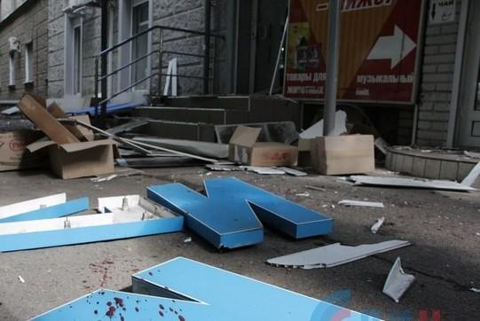Терроризм: В Луганске совершены два теракта
