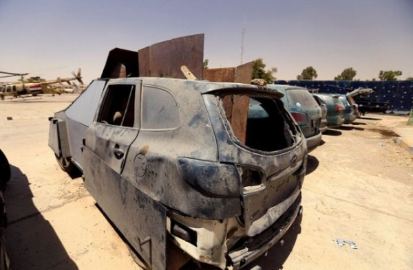 Терроризм: Шайтан-арба, захваченные у террористов