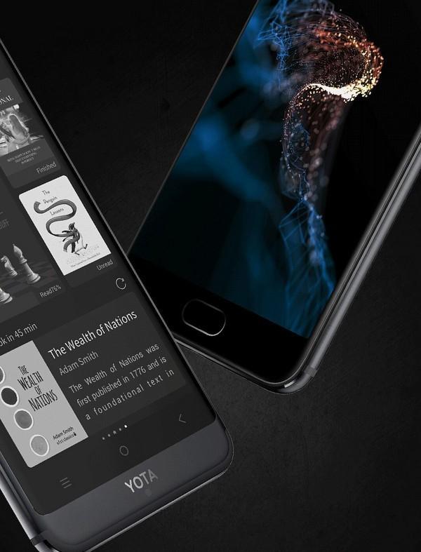 Технологии: YotaPhone 3