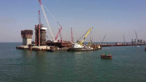 Интересное: Последние фотографии Крымского моста без пролетов