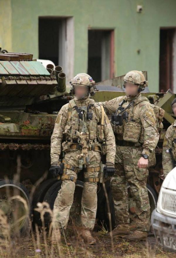 Война: Российский спецназ