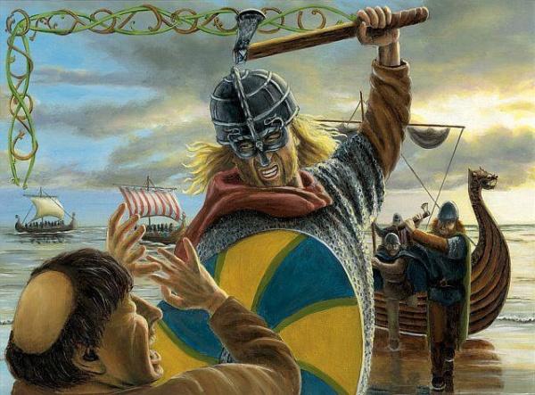 История: Легендарная казнь викингов - Кровавый орел