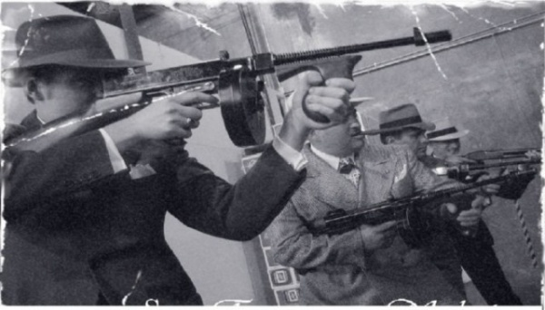 Криминал: Любимое оружие американских гангстеров