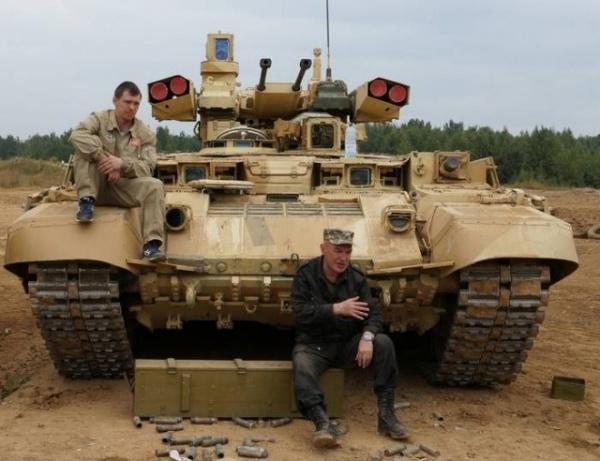 Война: Терминатор прошел обкатку в Сирии