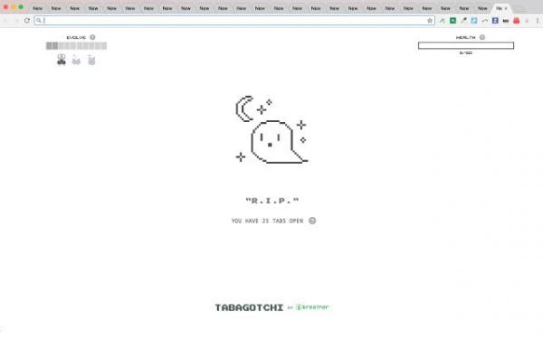 Интересное: Тамагочи для браузера