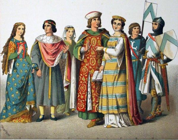 История: Развлечения в Средние века