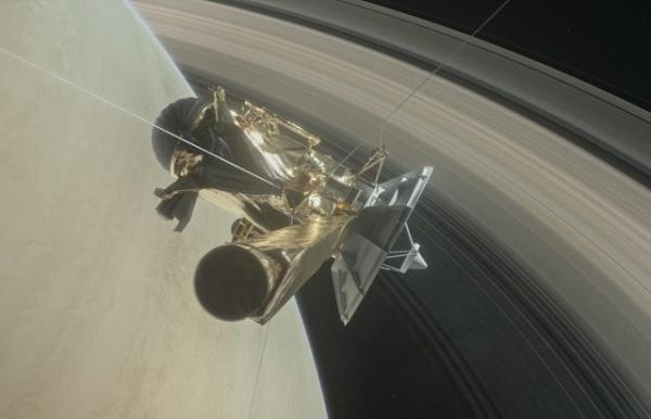 Интересное: Сегодня станция Кассини войдет в атмосферу Сатурна и прекратит существование