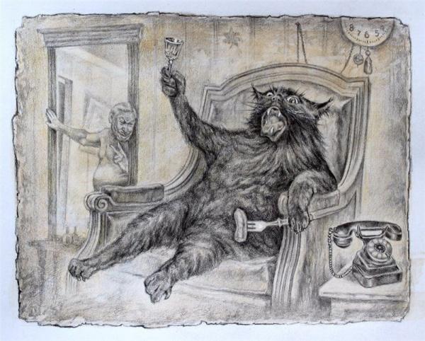 Картинки: Политическая сатира по Булгакову от Александра Ботвинова