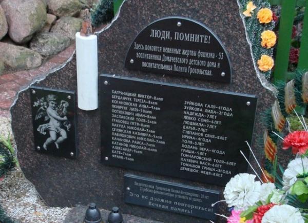 История: Трагедия Домачевского детского дома