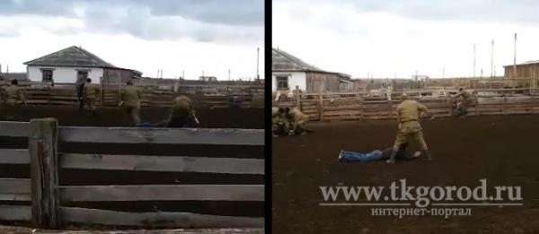 Происшествия: Спецназ ГУФСИН, переодетый в форму бойцов Красной армии на съемках фильма, задержал скотокрадов