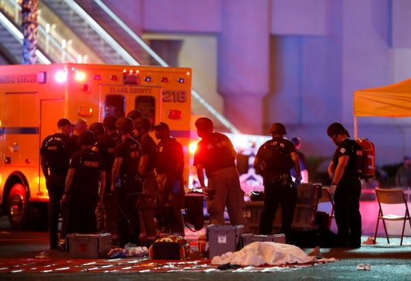 Криминал: Стрельба в Лас-Вегасе. Погибло свыше 20 человек