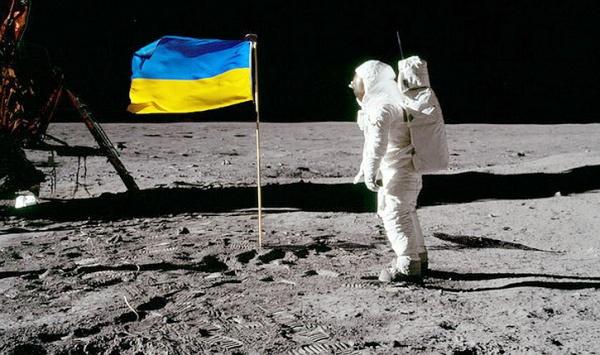 Безумный мир: Сенсация. Шок!  Американцы побывали на Луне благодаря украинцам