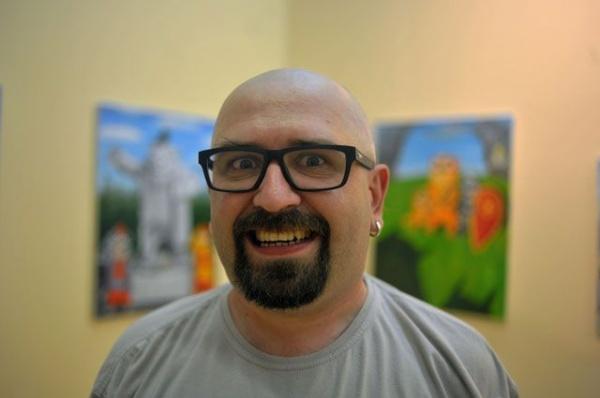 Интересное: Художник Вася Ложкин о своих картинах и критике