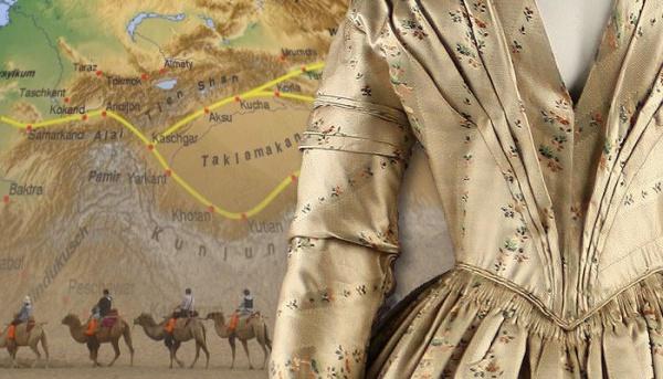 Интересное: История появления шелка в Европе