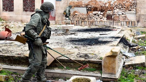 Война: США попросили сербских саперов не приминать участие в разминировании Сирии