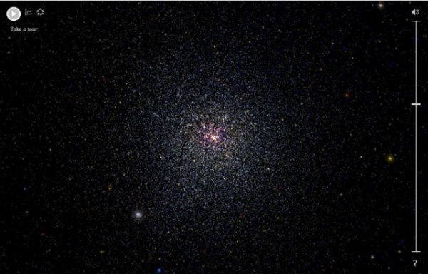 Интересное: Интерактивная панорама космического пространства