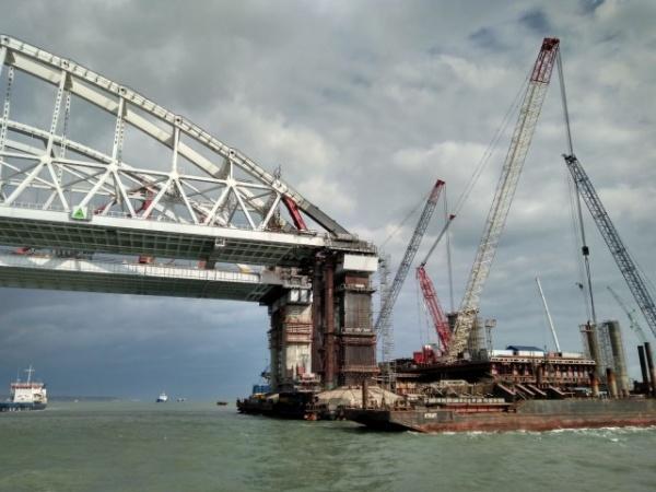 Интересное: Мост через Керченский пролив 27.10.2017