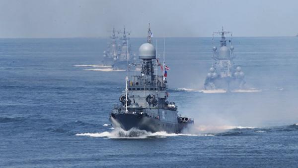 Новости: Отряд кораблей Балтийского флота вошел в Средиземное море
