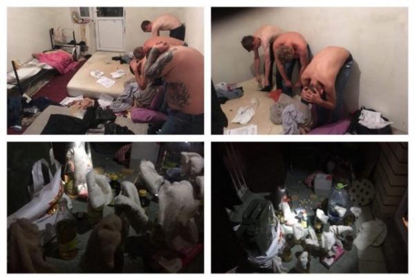 Криминал: В Москве в квартире у арестованных сторонников Мальцева нашли коктейли Молотова.