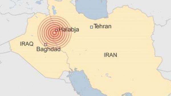 Происшествия: На границе Ирака и Ирана произошло сильное  землетрясение магнитудой 7,3