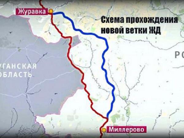 Новости: РЖД запускают первые пассажирские поезда по железнодорожной дороге в обход Украины