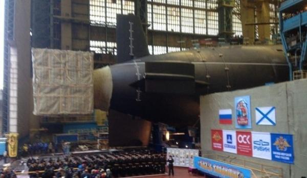 Новости: РПКСН «Князь Владимир» выведен из стапельного цеха