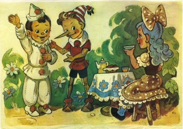 Интересное: Как Пиноккио стал Буратино
