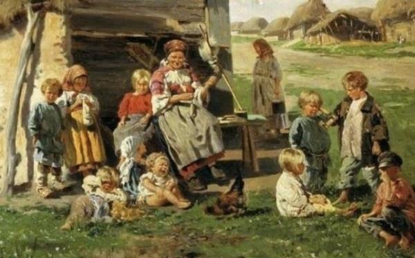 История: Сироты в старой России