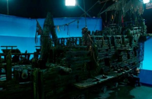 Интересное: Пираты Карибского моря. Спецэффекты. До и после