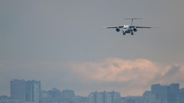 Происшествия: Ан-148 упал в Подмосковье