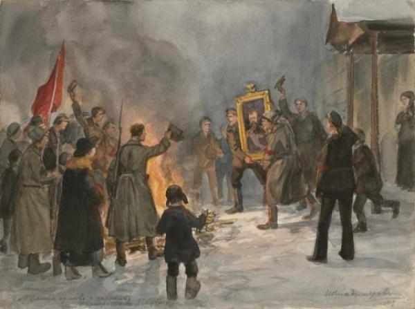Интересное: Революция глазами художника Ивана Владимирова