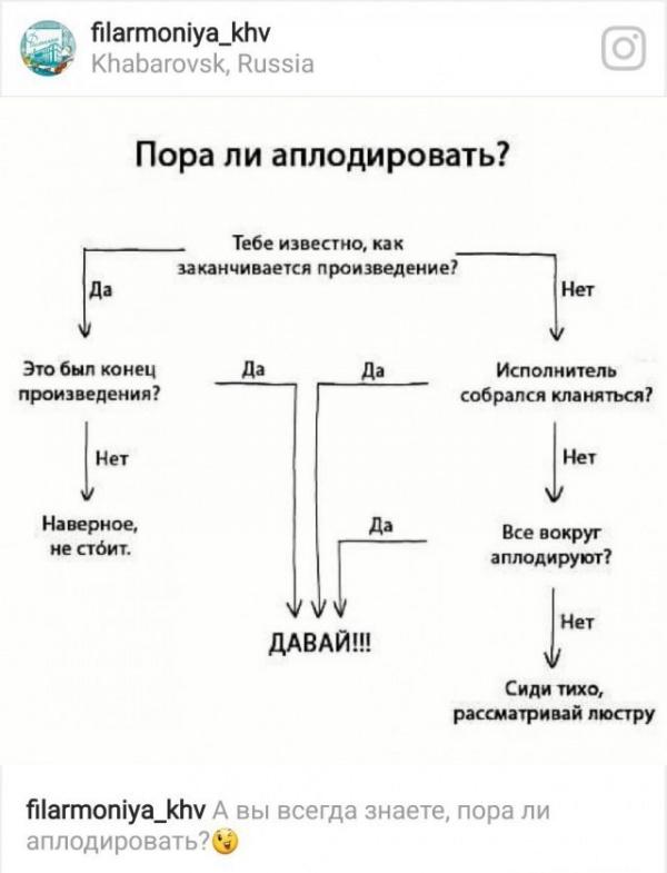 Картинки: Пора ли аплодировать? Обучение этикету от Хабаровской краевой филармонии