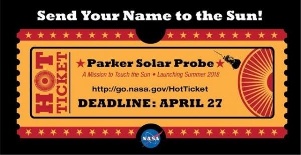 Интересное: Отправь своё имя к Солнцу!