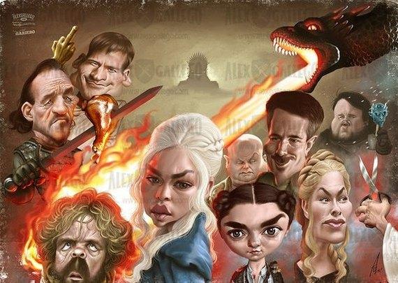 Интересное: «Игры престолов» - в финале все умрут:-)